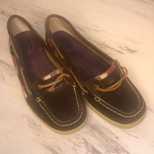 Sperry Top Slider Size 8.5 Leather shoes women
